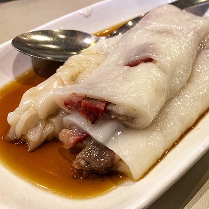 Restaurant asiatique crepe de riz boeuf