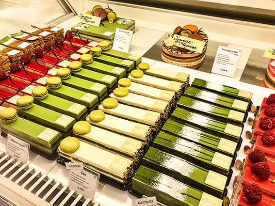 Patisserie Sadaharu Aoki gateaux franco-japonais Lafayette Gourmet Paris